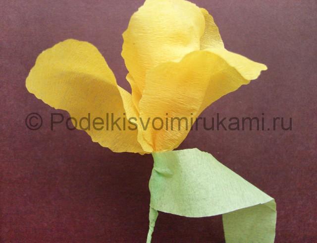 Изготовление ириса из бумаги - фото 23.