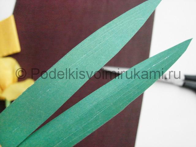 Изготовление ириса из бумаги - фото 28.