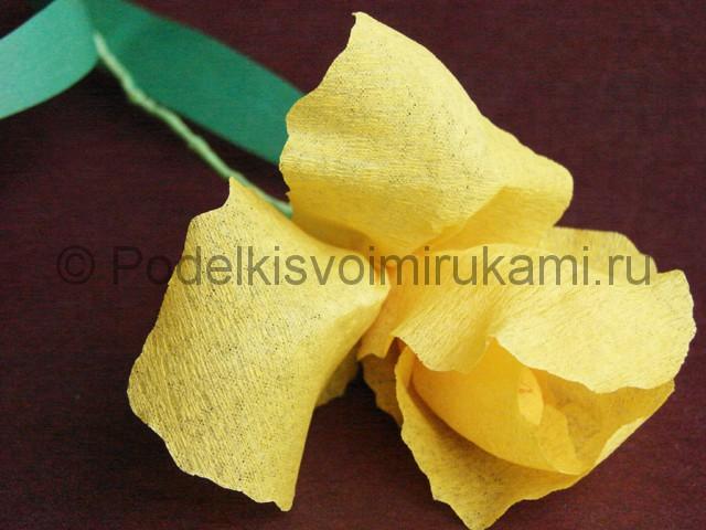 Изготовление ириса из бумаги - фото 31.