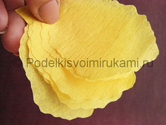 Изготовление ириса из бумаги - фото 7.