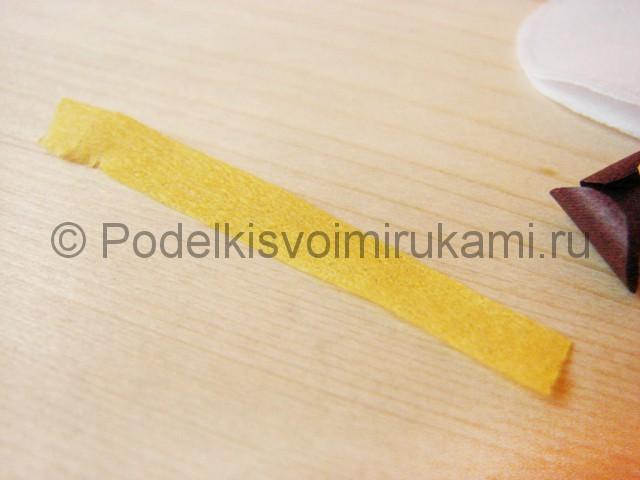 Изготовление орхидеи из бумаги - фото 15.