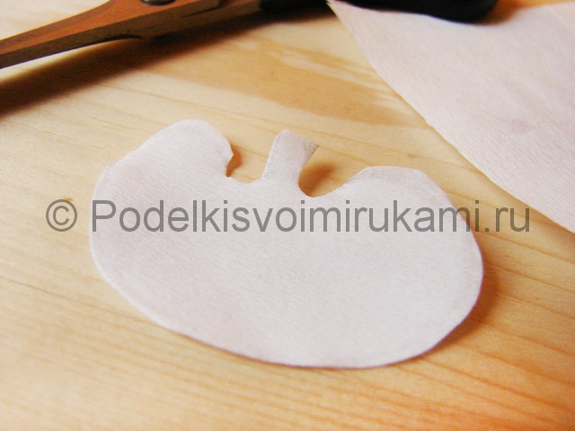 Изготовление орхидеи из бумаги - фото 2.