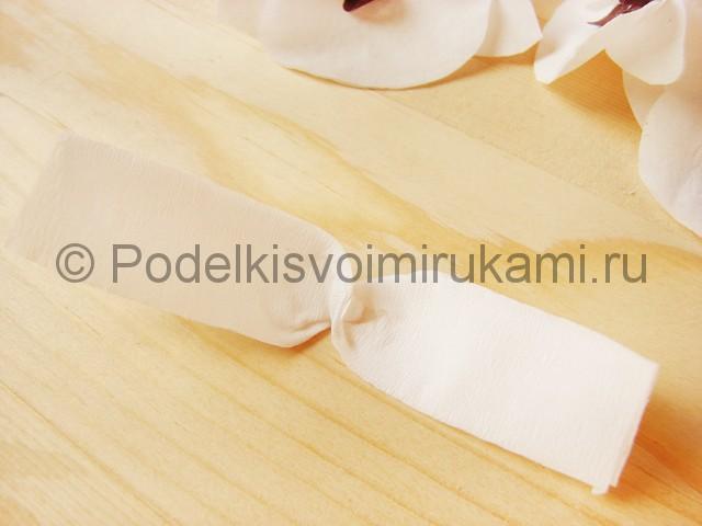 Изготовление орхидеи из бумаги - фото 27.