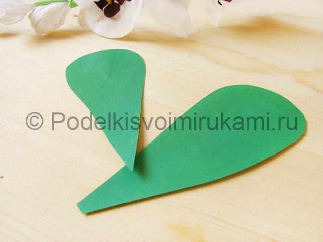Изготовление орхидеи из бумаги - фото 39.