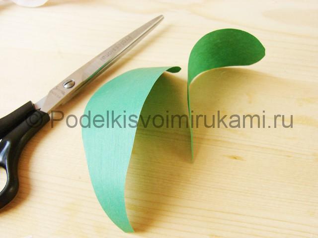Изготовление орхидеи из бумаги - фото 41.