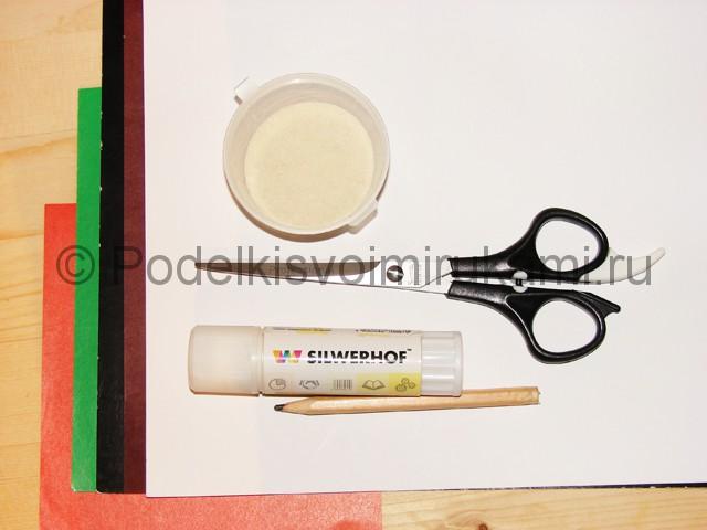 Изготовление снеговика из бумаги - фото 1.