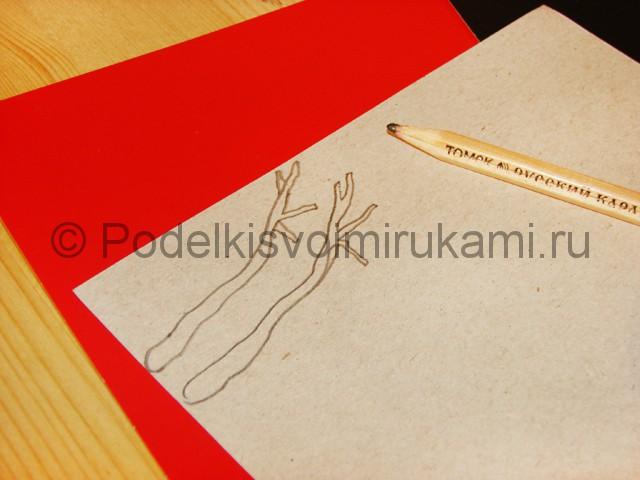 Изготовление снеговика из бумаги - фото 11.