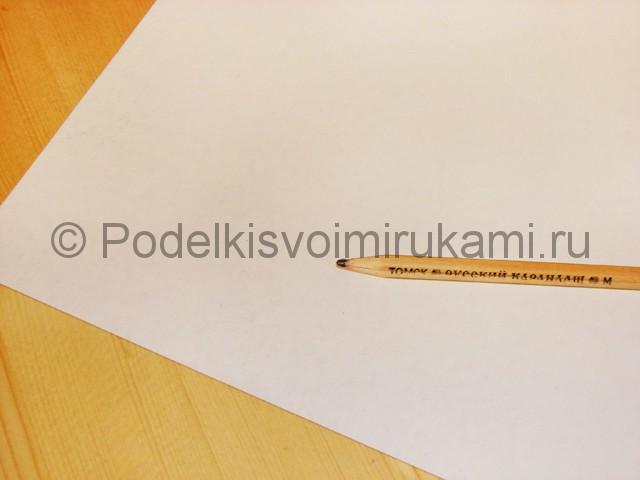 Изготовление снеговика из бумаги - фото 2.