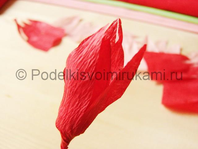 Поделка хризантемы из бумаги - фото 11.