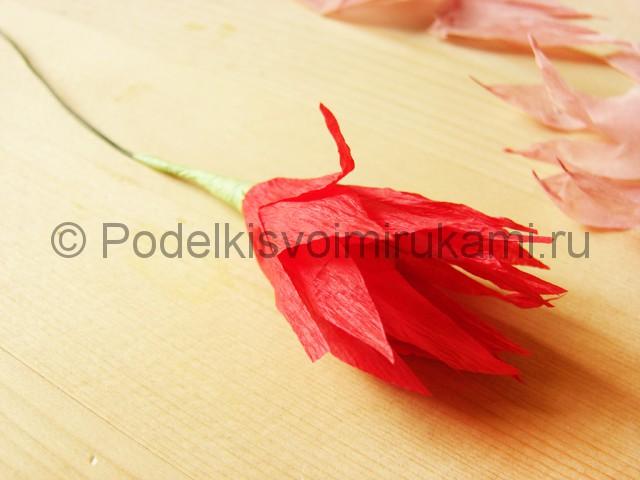 Поделка хризантемы из бумаги - фото 15.