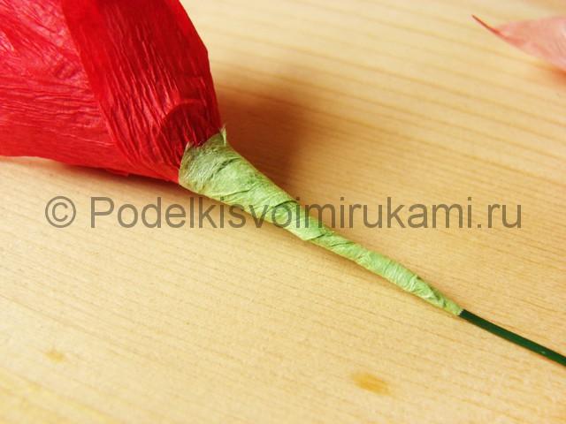 Поделка хризантемы из бумаги - фото 16.