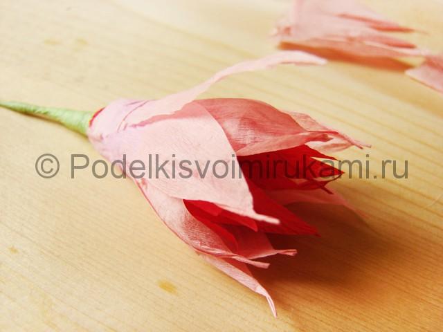 Поделка хризантемы из бумаги - фото 17.