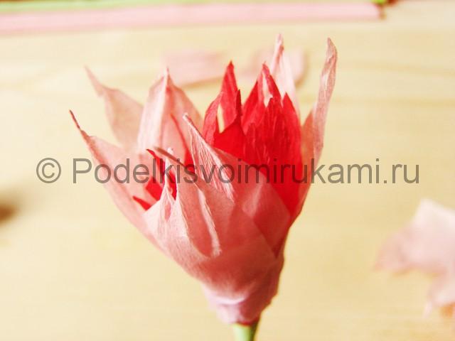 Поделка хризантемы из бумаги - фото 18.