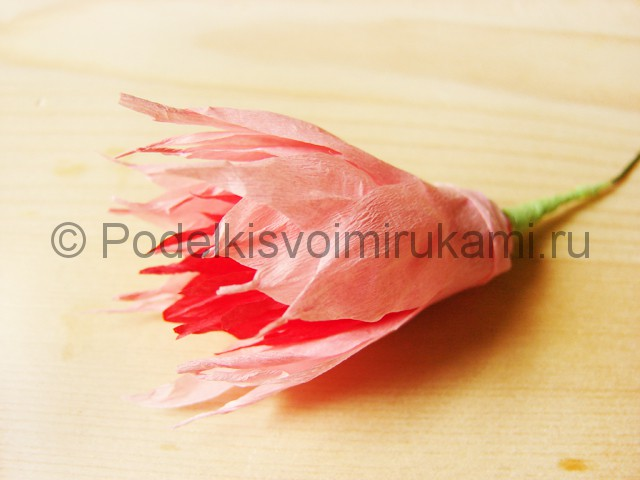 Поделка хризантемы из бумаги - фото 19.