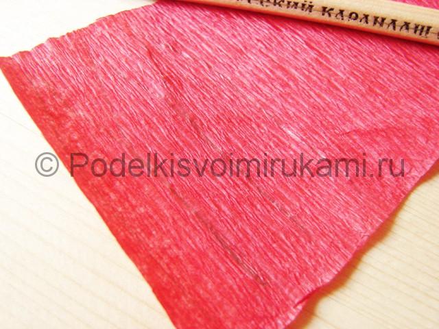Поделка хризантемы из бумаги - фото 2.