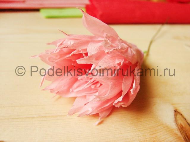 Поделка хризантемы из бумаги - фото 20.