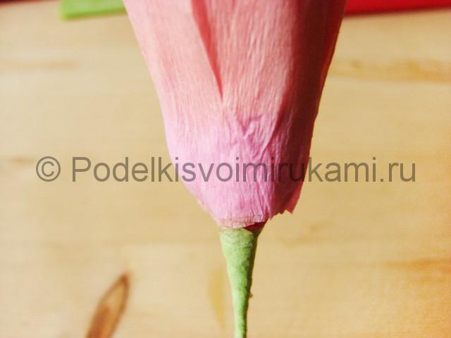 Поделка хризантемы из бумаги - фото 21.