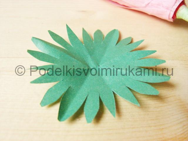 Поделка хризантемы из бумаги - фото 22.