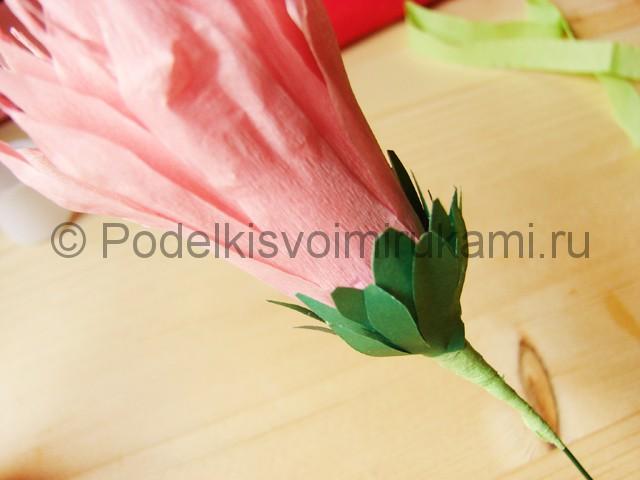 Поделка хризантемы из бумаги - фото 26.