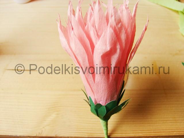 Поделка хризантемы из бумаги - фото 27.