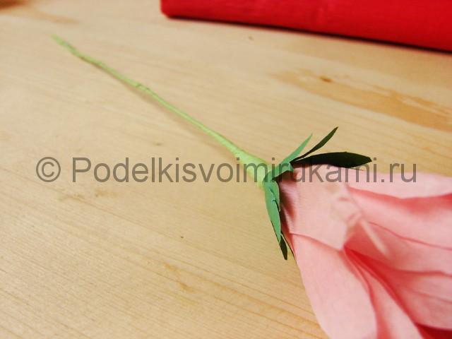 Поделка хризантемы из бумаги - фото 29.