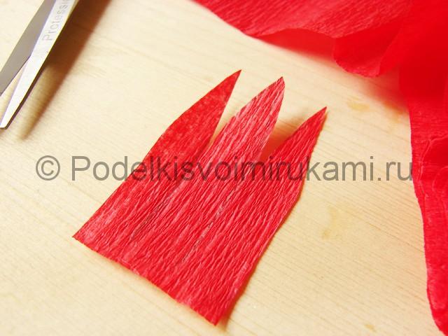 Поделка хризантемы из бумаги - фото 3.