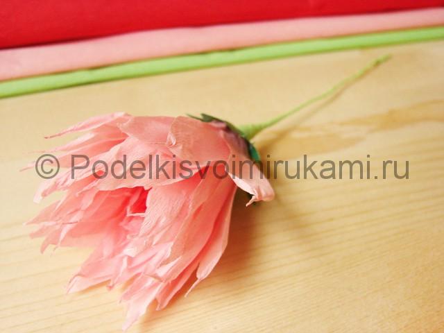 Поделка хризантемы из бумаги - фото 30.