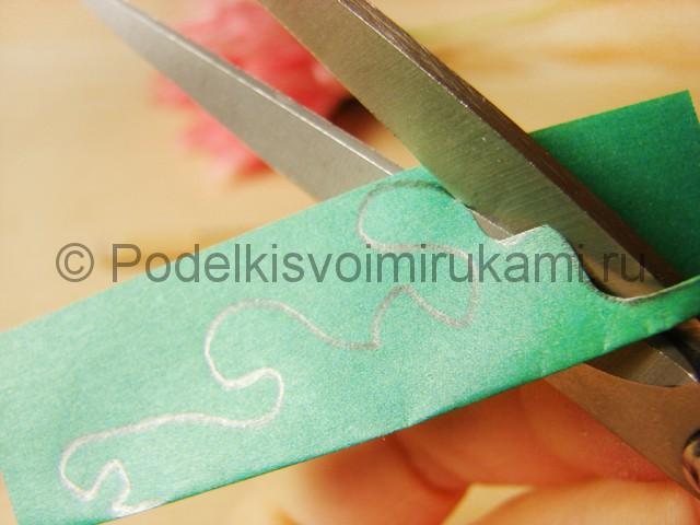 Поделка хризантемы из бумаги - фото 32.