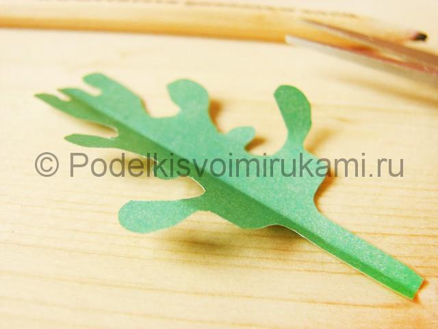 Поделка хризантемы из бумаги - фото 33.