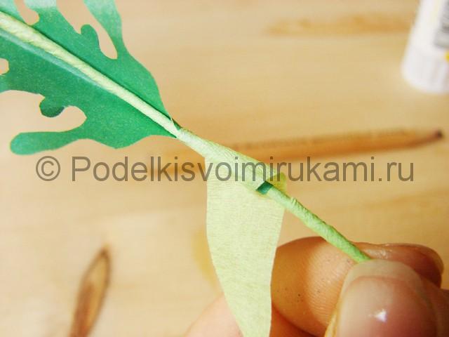 Поделка хризантемы из бумаги - фото 37.