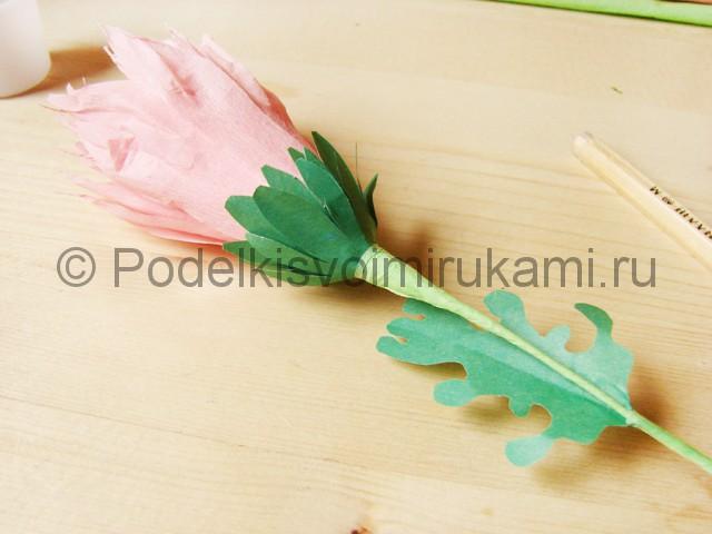 Поделка хризантемы из бумаги - фото 38.