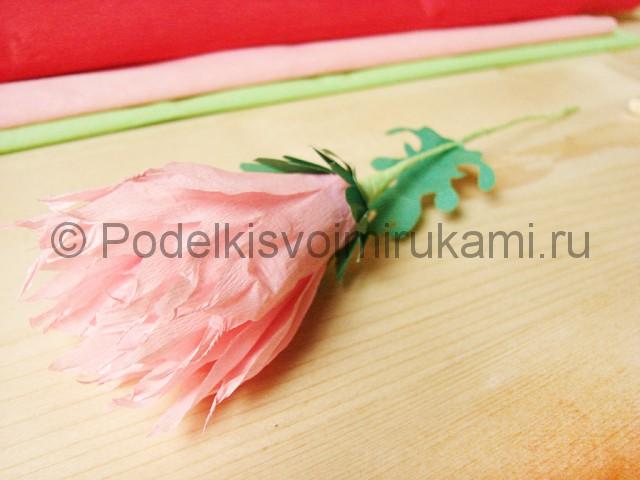 Поделка хризантемы из бумаги - фото 39.