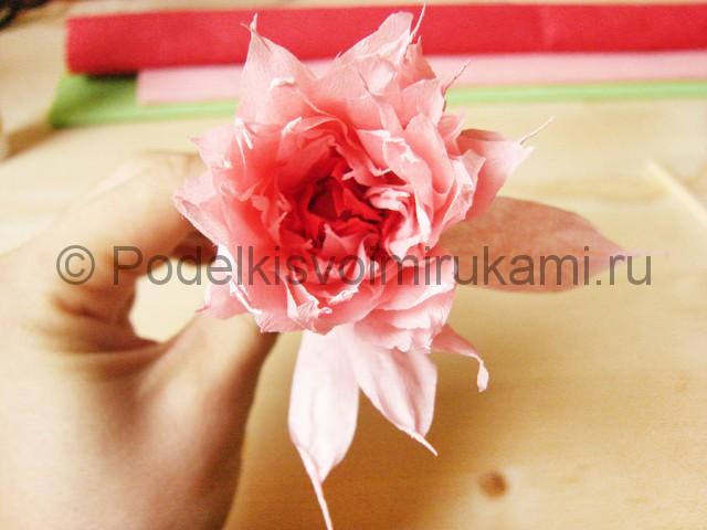 Поделка хризантемы из бумаги - фото 40.