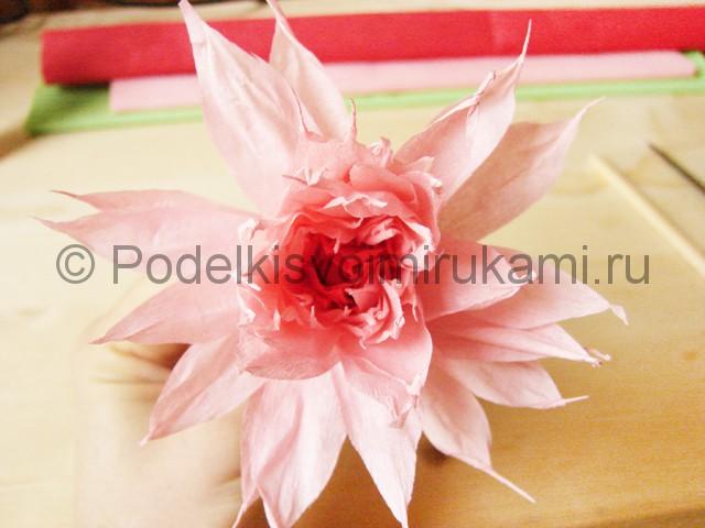 Поделка хризантемы из бумаги - фото 41.