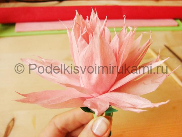 Поделка хризантемы из бумаги - фото 42.
