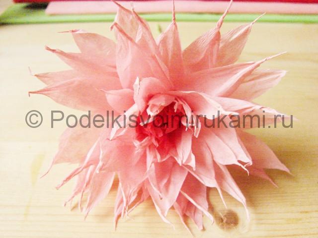 Поделка хризантемы из бумаги - фото 43.