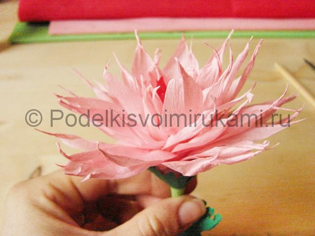 Поделка хризантемы из бумаги - фото 44.