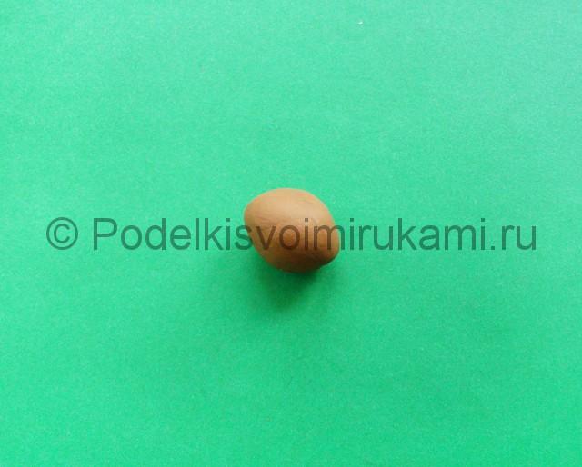 Лепка аниматроника Спарки из пластилина - фото 1.