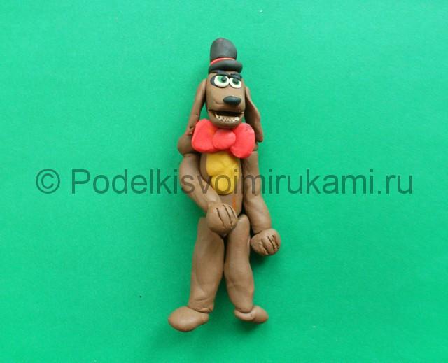 Лепка аниматроника Спарки из пластилина - фото 10.