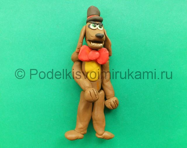 Лепка аниматроника Спарки из пластилина - фото 11.