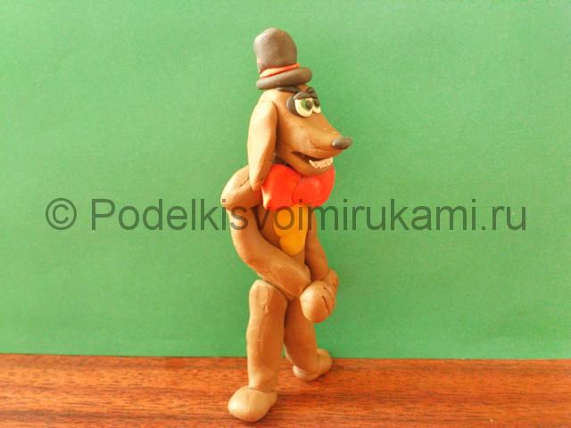 Лепка аниматроника Спарки из пластилина - фото 12.