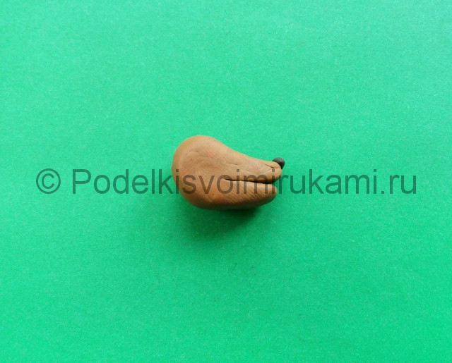 Лепка аниматроника Спарки из пластилина - фото 2.