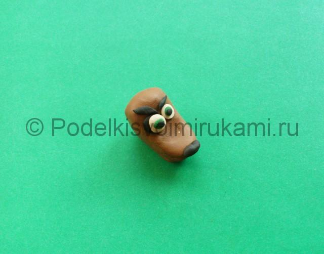 Лепка аниматроника Спарки из пластилина - фото 3.