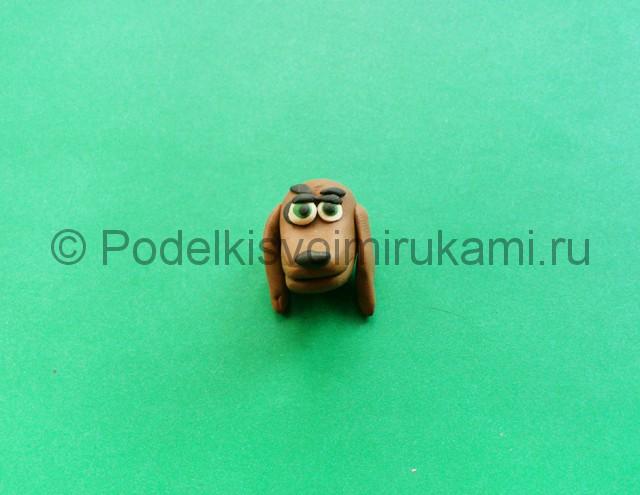 Лепка аниматроника Спарки из пластилина - фото 4.
