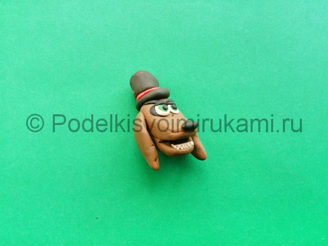 Лепка аниматроника Спарки из пластилина - фото 5.