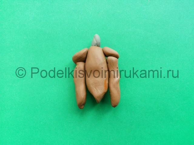 Лепка аниматроника Спарки из пластилина - фото 7.
