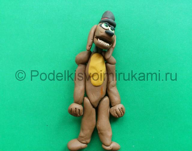 Лепка аниматроника Спарки из пластилина - фото 9.