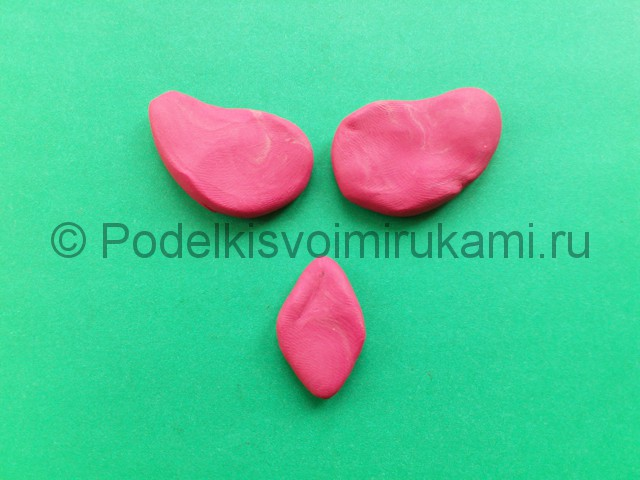 Лепка фламинго из пластилина - фото 8.