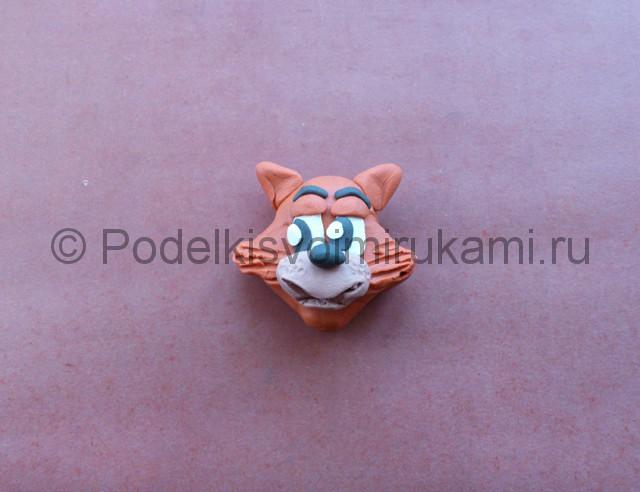 Лепка кота Леопольда из пластилина - фото 14.