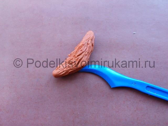 Лепка кота Леопольда из пластилина - фото 9.
